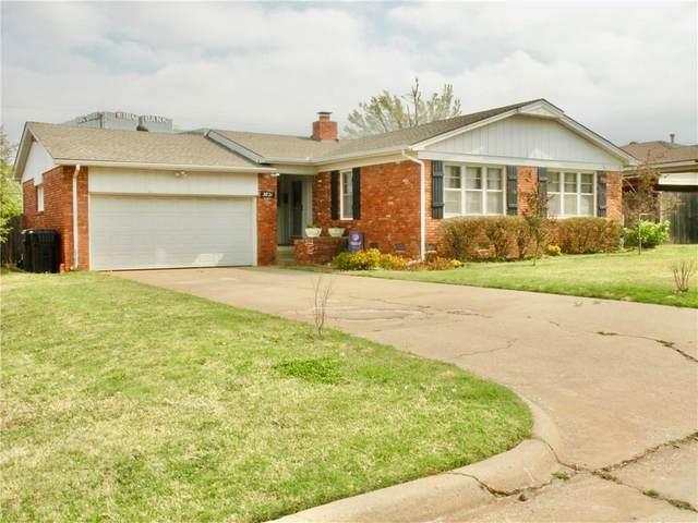 3821 NW 61st Street, Oklahoma City, OK 73112 (MLS #952849) :: Homestead & Co