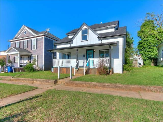 710 N Broad Street, Guthrie, OK 73044 (MLS #953460) :: KG Realty