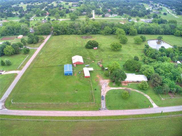 20395 Malone Road, Tecumseh, OK 74873 (MLS #956096) :: Sold by Shanna- 525 Realty Group
