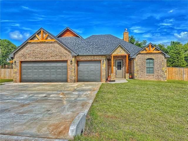 11860 Blue Heron Creek, Guthrie, OK 73044 (MLS #957622) :: KG Realty