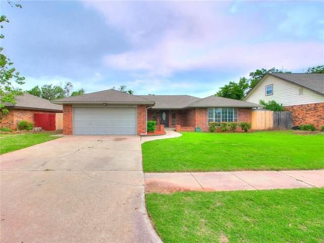 933 Pruitt Drive, Oklahoma City, OK 73170 (MLS #957806) :: KG Realty