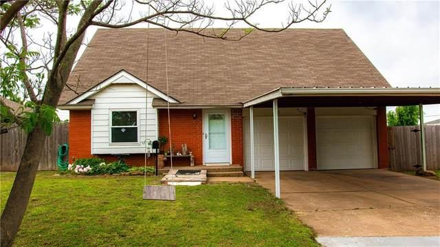 132 SW 13th Street, Moore, OK 73160 (MLS #957905) :: Erhardt Group at Keller Williams Mulinix OKC