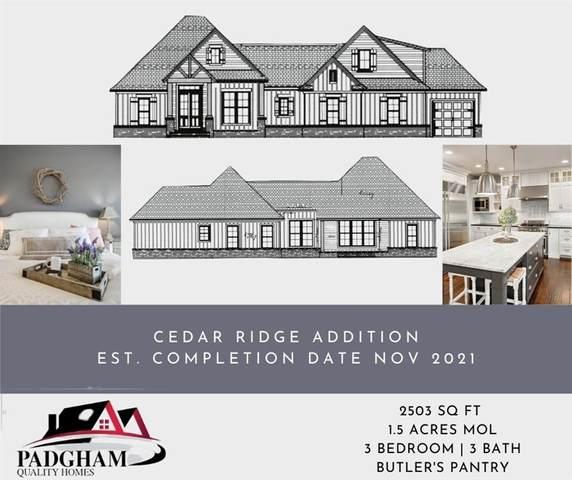 15003 Cedar Ridge Road, Shawnee, OK 74801 (MLS #958760) :: Maven Real Estate