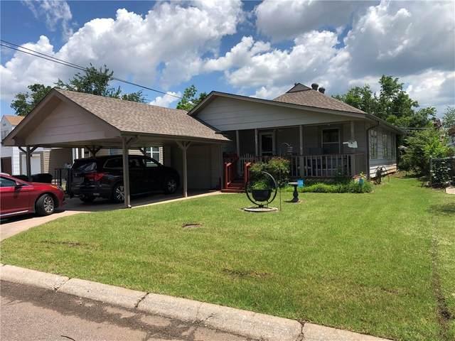 303 W Rickenbacker Drive, Midwest City, OK 73110 (MLS #961651) :: Maven Real Estate