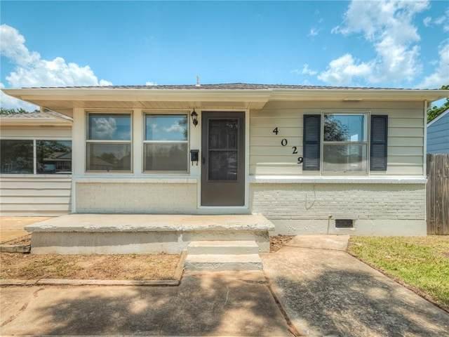 4029 SE 24th Street, Del City, OK 73115 (MLS #965906) :: Meraki Real Estate