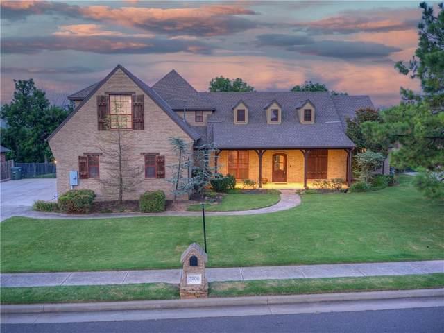 3200 Balmoral Drive, Edmond, OK 73034 (MLS #967081) :: Homestead & Co