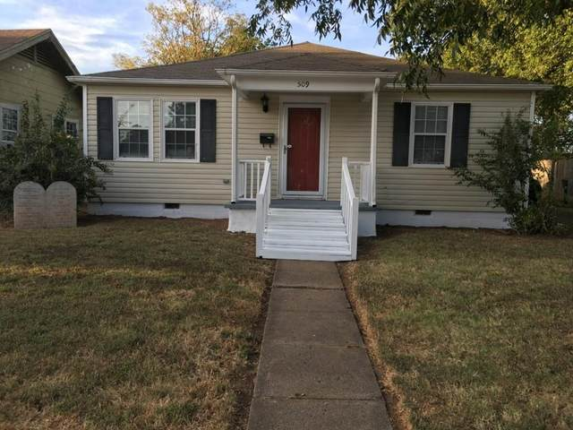 509 Wilson Avenue, Comanche, OK 73529 (MLS #967480) :: KG Realty