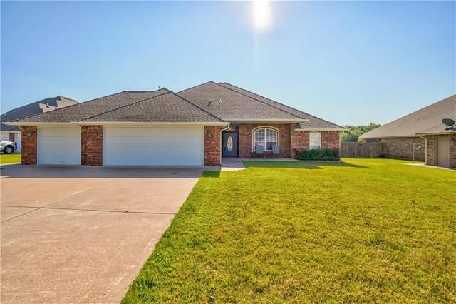 1405 Savannah Circle, Noble, OK 73068 (MLS #969579) :: Maven Real Estate