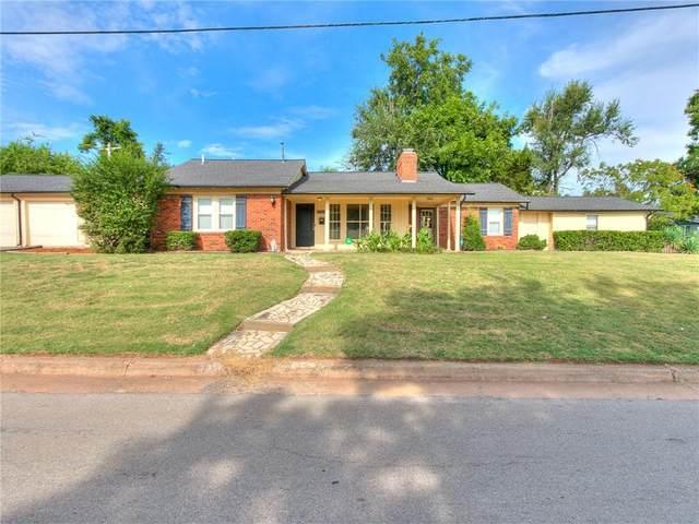 7911 N Military Avenue, Oklahoma City, OK 73116 (MLS #971171) :: The UB Home Team at Whittington Realty