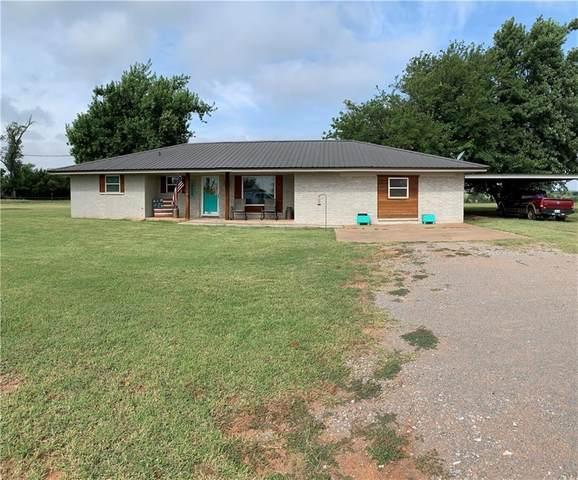 18180 County Street 2460 Street, Carnegie, OK 73015 (MLS #971778) :: Meraki Real Estate
