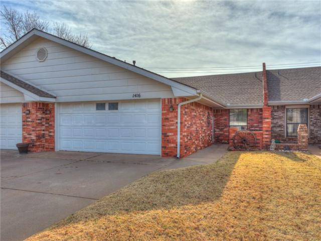 1416 E Proctor, Weatherford, OK 73096 (MLS #798858) :: Barry Hurley Real Estate