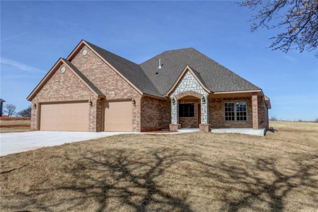 2703 Eagle Lake Drive, Blanchard, OK 73010 (MLS #803353) :: Barry Hurley Real Estate