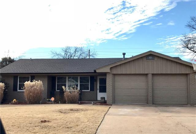 1606 W D Avenue, Elk City, OK 73644 (MLS #803461) :: Wyatt Poindexter Group
