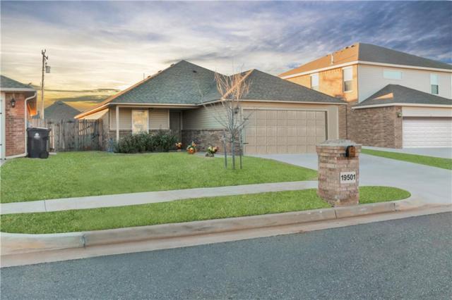 19501 Vista Avenue, Edmond, OK 73012 (MLS #804262) :: Wyatt Poindexter Group