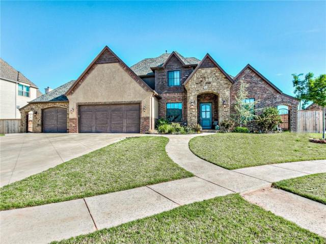 17853 Prairie Sky Way, Edmond, OK 73012 (MLS #804753) :: Wyatt Poindexter Group
