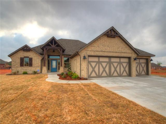 4600 Hambletonian Lane, Mustang, OK 73064 (MLS #809015) :: Erhardt Group at Keller Williams Mulinix OKC