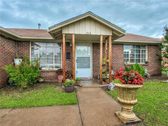 2113 SW 60th Street, Oklahoma City, OK 73159 (MLS #809865) :: Wyatt Poindexter Group