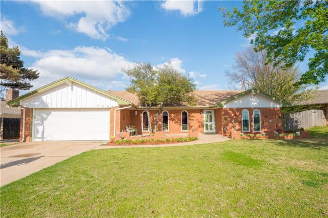 7304 N Ann Arbor Ave, Oklahoma City, OK 73132 (MLS #811699) :: Erhardt Group at Keller Williams Mulinix OKC