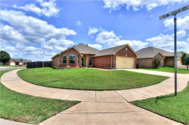 2400 Beaver Bend Lane, Yukon, OK 73099 (MLS #817556) :: Wyatt Poindexter Group
