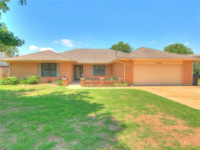 10005 Casa Linda, Oklahoma City, OK 73139 (MLS #821837) :: Wyatt Poindexter Group