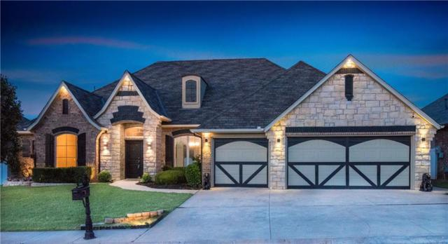 16504 Village Garden Drive, Edmond, OK 73012 (MLS #822652) :: Wyatt Poindexter Group