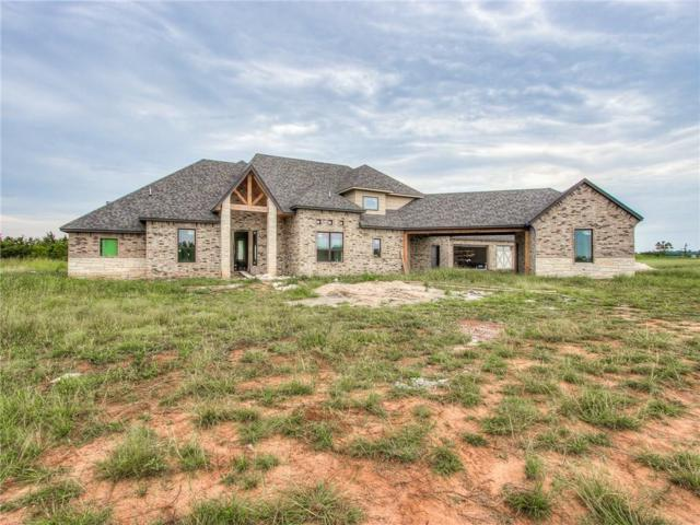 13800 Grae Ridge Road, Yukon, OK 73099 (MLS #825845) :: KING Real Estate Group