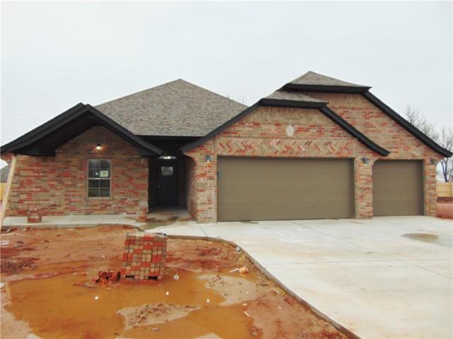 1704 W Zachary Way, Mustang, OK 73064 (MLS #852474) :: Homestead & Co