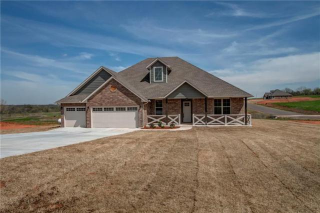 3706 Tumbleweed, Blanchard, OK 73010 (MLS #853373) :: KING Real Estate Group