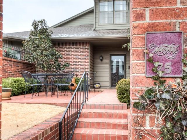 6206 Waterford Boulevard #75, Oklahoma City, OK 73118 (MLS #855294) :: Denver Kitch Real Estate