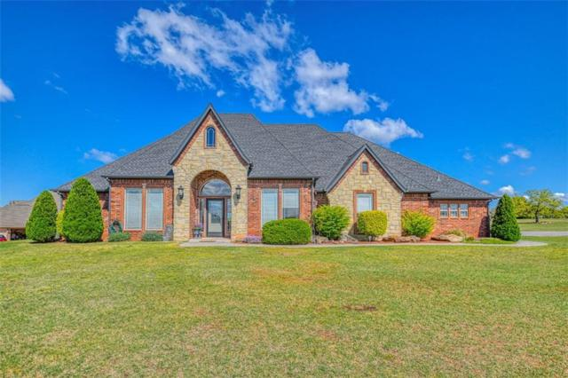 2191 Sandpiper Drive, Blanchard, OK 73010 (MLS #855620) :: KING Real Estate Group