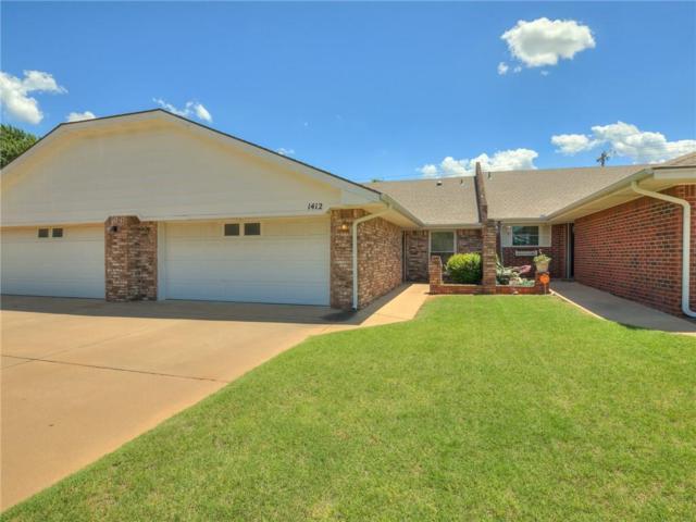 1412 E Proctor Avenue, Weatherford, OK 73096 (MLS #868244) :: Homestead & Co