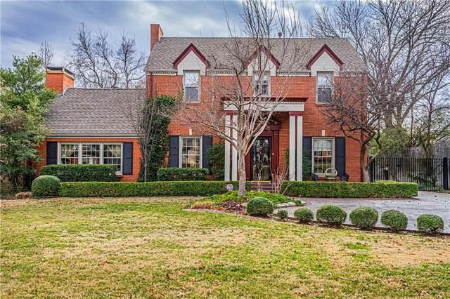 1114 Huntington Avenue, Nichols Hills, OK 73116 (MLS #897114) :: Homestead & Co