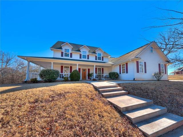 17500 Chatham Hills Road, Norman, OK 73071 (MLS #899375) :: Homestead & Co