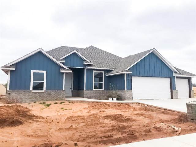 1207 NW 17th Place, Newcastle, OK 73065 (MLS #902960) :: Homestead & Co