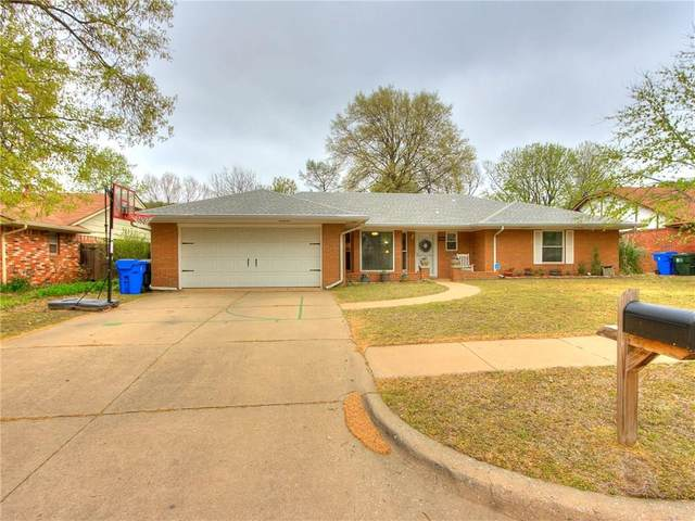 1711 Chaucer Drive, Norman, OK 73069 (MLS #906231) :: Homestead & Co