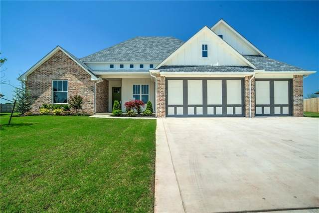 108 Pont Mirabeau Circle, Edmond, OK 73034 (MLS #910070) :: Homestead & Co