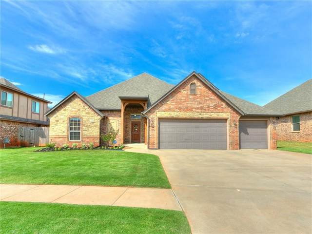 19217 Greenery Lane, Edmond, OK 73012 (MLS #915813) :: Erhardt Group at Keller Williams Mulinix OKC