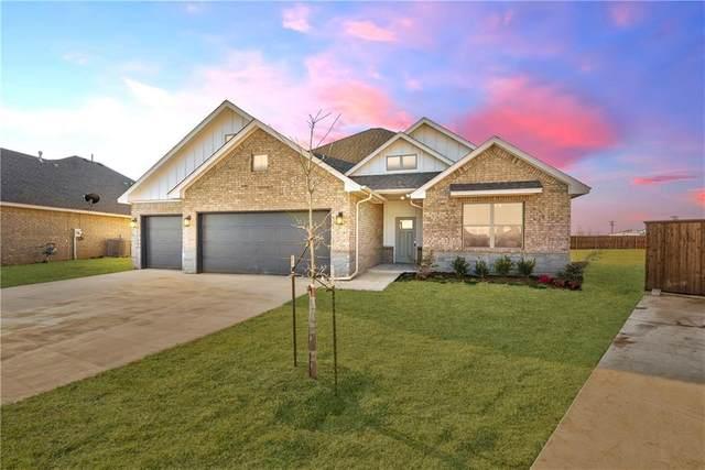 447 NE Auburn Circle, Piedmont, OK 73078 (MLS #917009) :: The UB Home Team at Whittington Realty