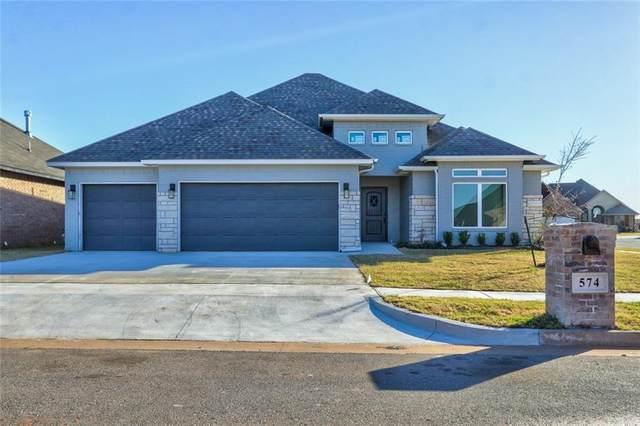 574 NE Auburn Lane, Piedmont, OK 73078 (MLS #917031) :: Homestead & Co