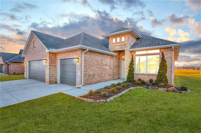 1309 NE Auburn Circle, Piedmont, OK 73078 (MLS #917043) :: The UB Home Team at Whittington Realty