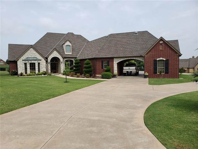 3363 Lake Ellen Drive, Newcastle, OK 73065 (MLS #917637) :: Homestead & Co