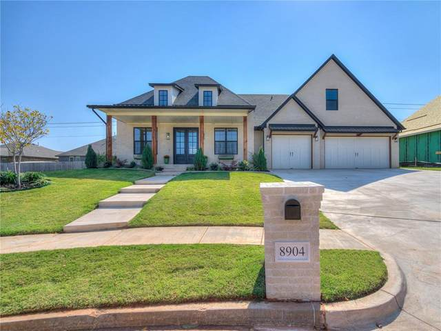 8904 NW 130th Street, Oklahoma City, OK 73142 (MLS #924465) :: The UB Home Team at Whittington Realty