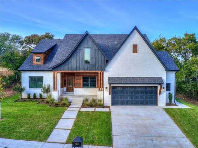 7317 Skipping Stone Drive, Edmond, OK 73034 (MLS #927210) :: Homestead & Co