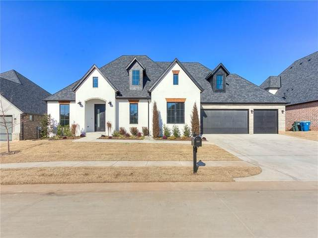 1333 Regency Bridge Circle, Edmond, OK 73034 (MLS #934405) :: Homestead & Co