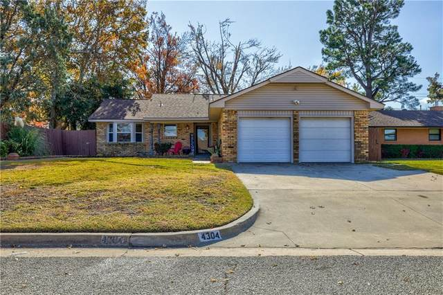4304 NW 56th Terrace, Oklahoma City, OK 73112 (MLS #934670) :: Erhardt Group at Keller Williams Mulinix OKC