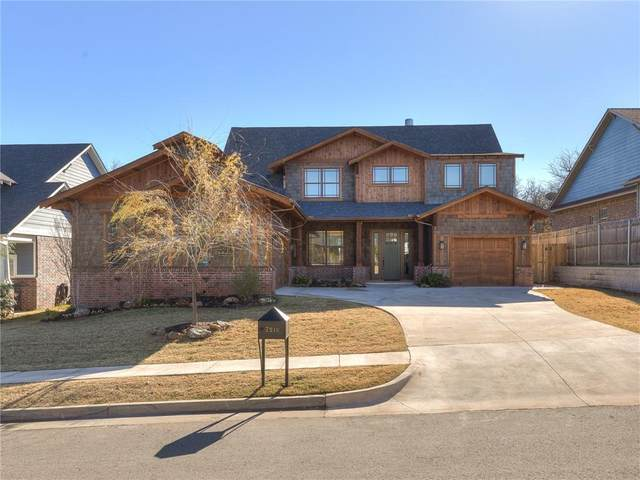 7216 Skipping Stone Drive, Edmond, OK 73034 (MLS #937678) :: Homestead & Co