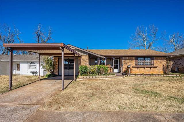 901 Willow Brook Drive, Midwest City, OK 73110 (MLS #937820) :: Homestead & Co