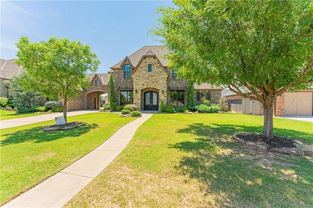 4600 Fountain View Drive, Norman, OK 73072 (MLS #950661) :: The UB Home Team at Whittington Realty