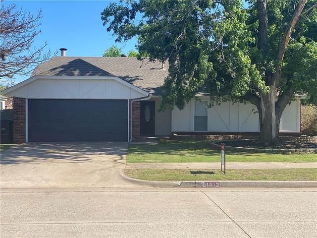 1612 NE 8th Street, Moore, OK 73160 (MLS #955034) :: Maven Real Estate
