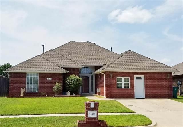 15417 Stone Meadows Drive, Oklahoma City, OK 73170 (MLS #970169) :: Erhardt Group
